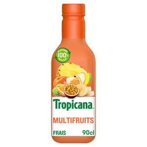 Tropicana Jus Frais Multivitamines la Bouteille de 90cl