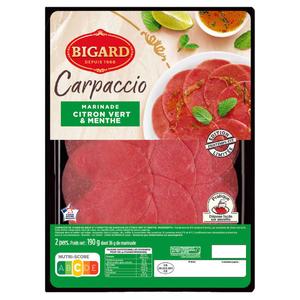 Bigard Carpaccio Marinade Citron Vert & Menthe 190g