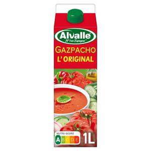 Alvalle gazpacho 1L.