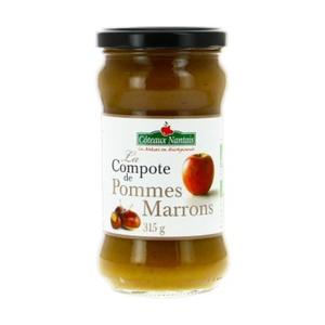 [Par Naturalia] Coteaux Nantais Compote De Pomme & Marrons 315G Bio