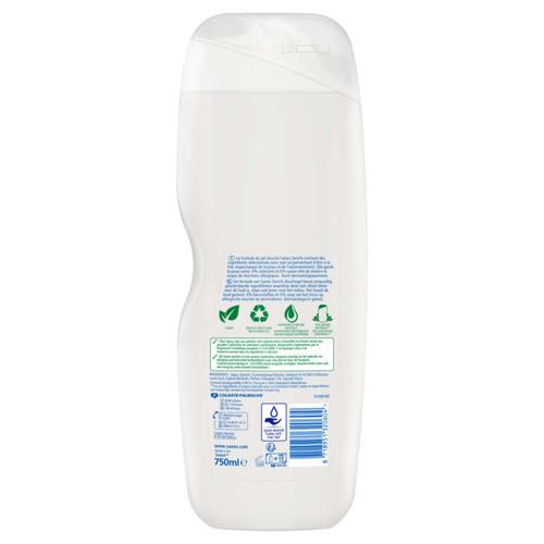 Sanex Zéro 0% Gel Douche Sans savon Peaux Normales 750ml