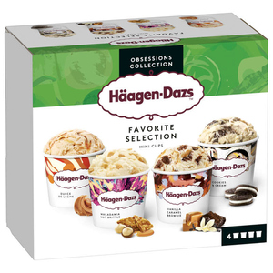 Haagen Dazs Minipot Favorite Selection 318g