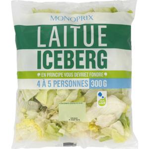 Monoprix laitue iceberg 300g
