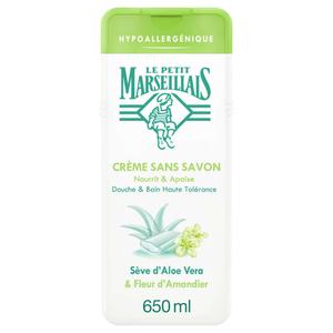 Le Petit Marseillais Crème sans savon hypoallergénique 650ml.