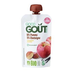Good Goût Compote Pomme Châtaigne Dès 4 Mois Bio 120g