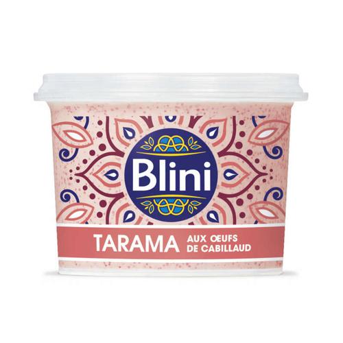 Blini Tarama aux œufs de cabillaud 100g
