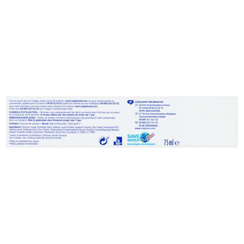 Colgate Total Blancheur Dentifrice 75ml