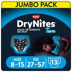 Drynites Culottes De Nuit Garçon 8-15 Ans 13 x.