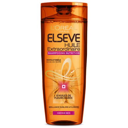 Elseve Huile Extraordinaire 6 Fleurs Shampooing Cheveux Secs 250ml