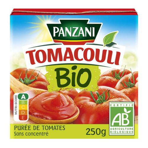 Panzani sauce tomate nature bio le pot de 250g