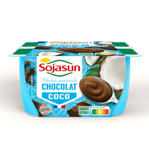 Sojasun Sojasun coco chocolat 4x100G