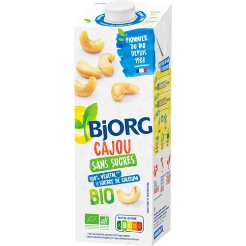 Bjorg Boisson Cajou Sans Sucres Bio 1l