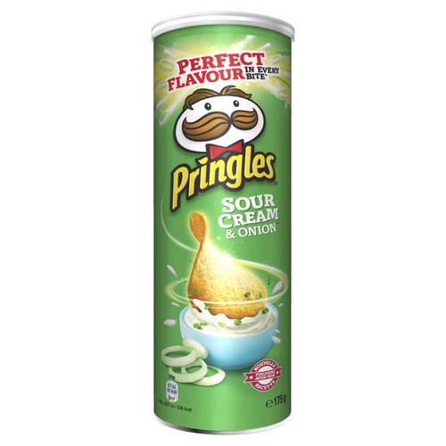 Pringles Snack salé Sour Cream & Onion 175g