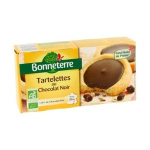 [Par Naturalia] Bonneterre Tartelettes Au Chocolat Noir 125G Bio