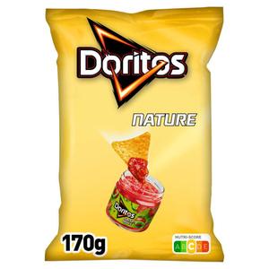 DORITOS Tortilla Chips Saveur Nature le Sachet de 170g