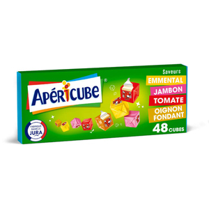 Apericube Fromage fondu apéritif Long Drink 48 cubes 250 g