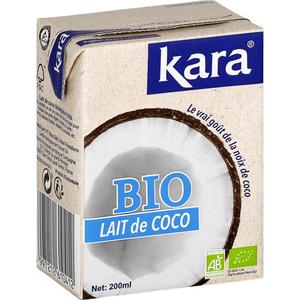 Kara Lait De Coco Bio 200ml
