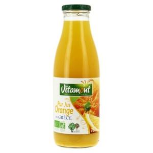 [Par Naturalia] Vitamont Pur Jus D'Orange De Grèce 75Cl Bio