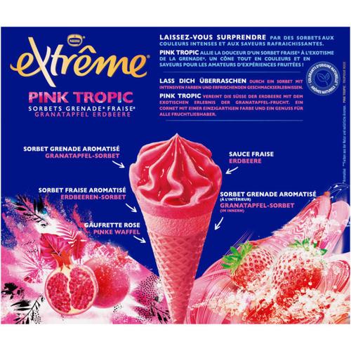 Nestlé Extrême 6 Cones Pink Tropic 429g