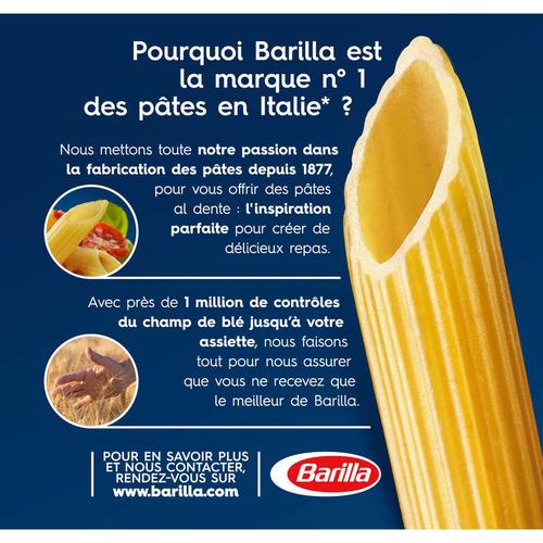 Barilla Pâtes Penne Rigate 1kg