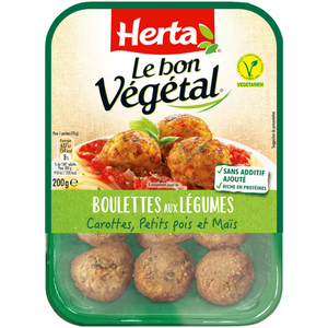 Herta Le bon Végétal boulettes de légumes