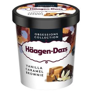 Haagen Dazs Pot Vanilla caramel brownie 386g