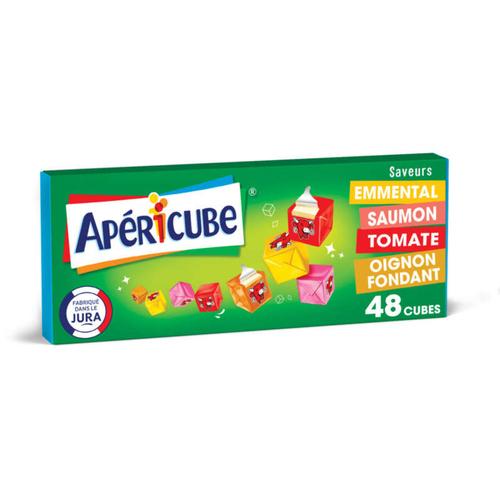 Apéricube Fromage fondu apéritif Long Drink 48 cubes 250 g