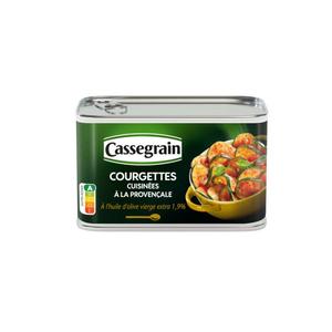 Cassegrain Courgettes Cuisinées à La Provençale 375g