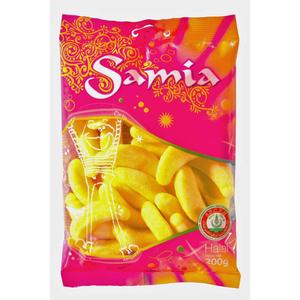 Samia Bonbons Banane Halal 200g