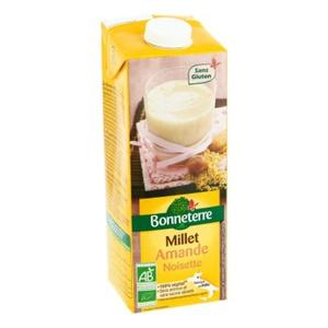 [Par Naturalia] Bonneterre Boisson Millet Amande & Noisette 1L Bio