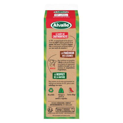 Alvalle salmorejo soupe froide 1L