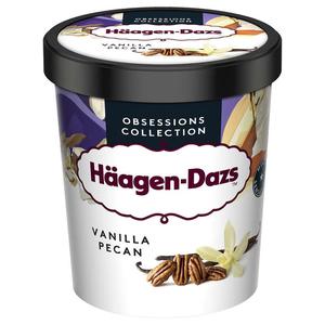 Haagen Dazs Pot Vanilla Pecan Prem 400g