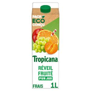 Tropicana Pur Jus Réveil Fruité la Brique d'1L