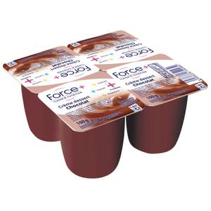 Force + crème dessert chocolat riche en protéines 4x100g