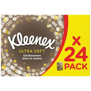 Kleenex Mouchoirs minis étuis ultra douxx9.