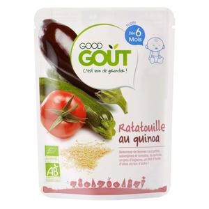 Good Goût Ratatouille au quinoa bio Dès 6 mois 190g