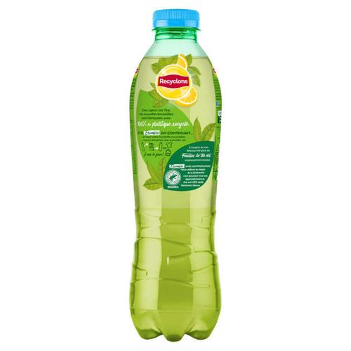 Lipton Green ice tea zéro saveur Citron 1L