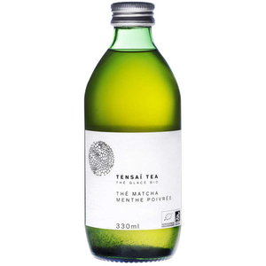 [Par Naturalia] Tensai Tea Thé Matcha Glacé Menthe Poivrée 33Cl Bio
