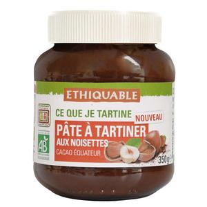 Ethiquable Pate A Tartiner Aux Noisettes Bio 350G