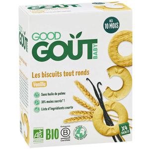 Good Goût Biscuits Bio Vanille Dès 10 Mois 80g