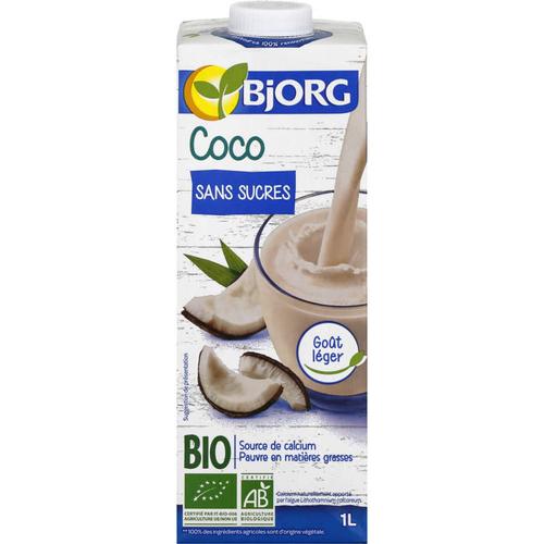 Bjorg Boisson Coco Sans Sucres Bio 1l
