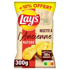 Lay's Chips Recette À L'Ancienne Nature 300g