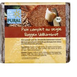 [Par Naturalia] Pural Pain Complet au Seigle Bio 375g