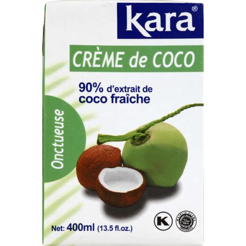 Kara Crème De Coco Onctueuse 400ml